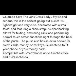 Bags - Save the girls crossbody!